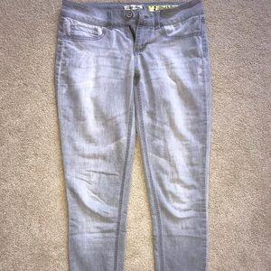 Pants - Gray denim jeans
